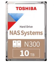 TOSHIBA - 10TB TOSHIBA N300 7200RPM SATA 256MB HDWG11AUZSVA