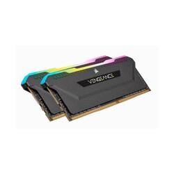 Corsair - 16GB 2X8 DDR4 3200 CORSAIR C16 CMH16GX4M2Z3200C16 RGB PRO SL BLACK
