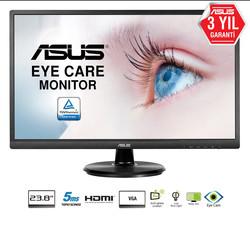 ASUS - 23.8 ASUS VA249HE 5ms DVI VGA D-Sub HDMI MONİTÖR