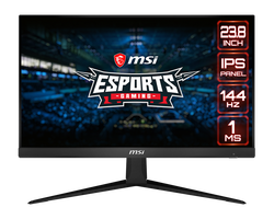 23.8 MSI OPTIX G241 FHD VA 144HZ 1MS HDMI+DP FLAT GAMING MONITOR - Thumbnail