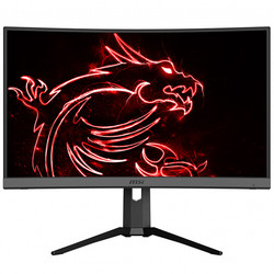 MSI - 27 MSI OPTIX MAG272CQR QHD VA 165HZ 1MS HDMI+DP RGB CURVED GAMING MONITOR