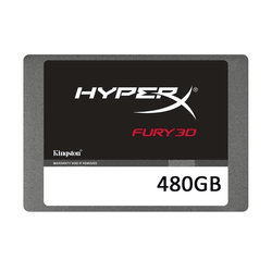 480GB HYPERX FURY 3D 500/500MBs SSD KC-S44480-6F - Thumbnail