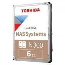 TOSHIBA - 6TB TOSHIBA N300 7200RPM SATA3 128MB HDWG460UZSVA