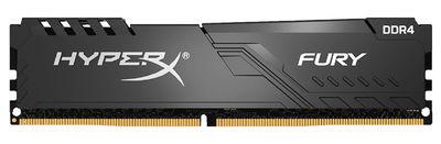 8 GB DDR4 3000MHz CL15 KINGSTON HYPERX FURY BLACK (HX430C15FB3/8)