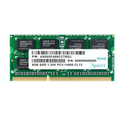 8GB DDR3 1600Mhz SODIMM APACER 1.35V NOTEBOOK RAM