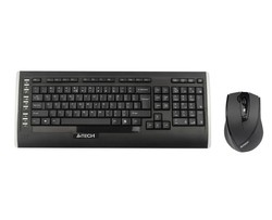 A4 TECH - A4 Tech 9300F Q Kablosuz MM V-Track Mouse Set