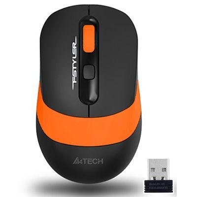 A4 TECH FG10 Kablosuz 2000dpi Optic Siyah/Turuncu Mouse