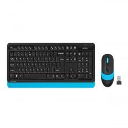 A4 TECH FG1010 Q 2.4 GHZ USB MAVİ KLAVYE+MOUSE KABLOSUZ SET - Thumbnail