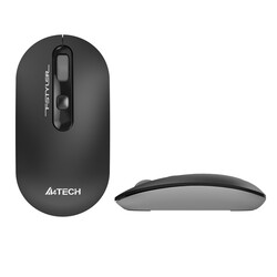 A4 TECH - A4 TECH FG20 Kablosuz 2000dpi Optic Gri Mouse