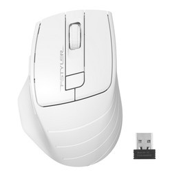 A4 TECH - A4 TECH FG30 Kablosuz 2000dpi Optic Beyaz Mouse