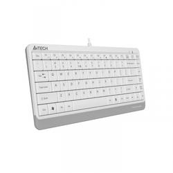 A4tech - A4 TECH FK11 SLIM Q KLAVYE USB BEYAZ