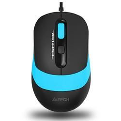 A4 TECH - A4 TECH FM10 USB 1600dpi Optic Siyah/Mavi Mouse