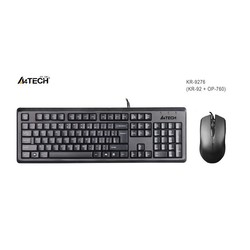 A4 TECH - A4-Tech KR-9276 Q Klavye Mouse Set USB