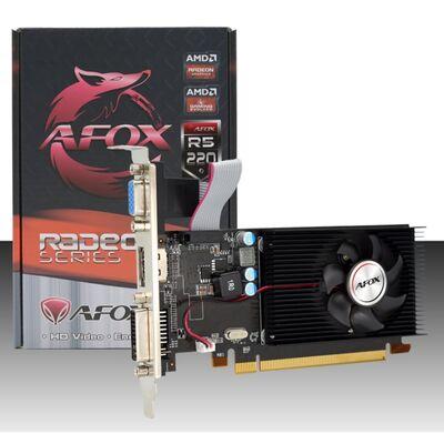 Afox Radeon R5220 2gb 64BIT Ddr3 Pcı-Express 2.0 Ekran Kartı AFR5220-2048D3L4