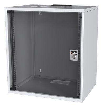 AGER 12U 540x400mm Duvar Tipi Beyaz Kabinet SOHO AG-SH12U5440B1