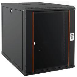 AGER - AGER 12U 600x600mm Duvar Tipi Siyah Kabinet Agena AG-AN012U6060S1