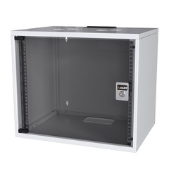 AGER - AGER 9U 540x400mm Duvar Tipi Beyaz Kabinet SOHO AG-SH09U5440B1