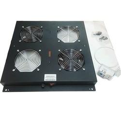 AGER Dikili Tip 2li Termostatlı Siyah Fan Modülü VG-F2T-A-BL - Thumbnail