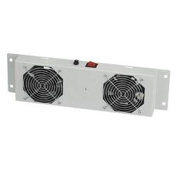 AGER - AGER Duvar Tipi 2li Termostatlı Beyaz Fan Modülü AN-F2T-A-LG