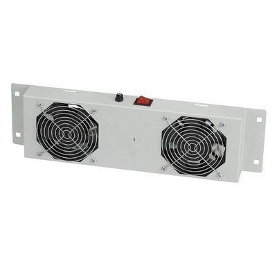 AGER Duvar Tipi 2li Termostatlı Beyaz Fan Modülü AN-F2T-A-LG