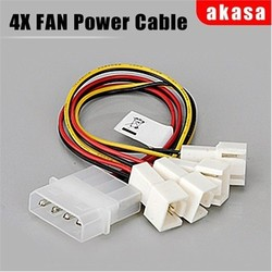 Akasa - AKASA CB001 AK-CB001 HDD (Harddisk) Sata Power Çoklayıcı