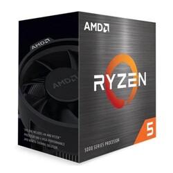 AMD - AMD RYZEN 5 5600X 6 ÇEKİRDEK 3.7GHZ 35MB AM4+ 65W Wraith (Ekran Kartı Gerekir)