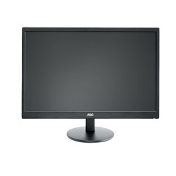AOC - AOC 21.5 E2270SWN 5Ms Analog Full HD Led Monitör Siyah