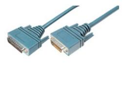 ASSMANN - Assmann ACAB-232MT Cisco Router Kablosu, 3 metre, Molex 60 erkek - DB 25 erkek