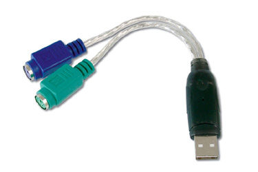 Assmann DA-70118 SB'den PS/2'ye (Klavye ve Mouse) Çevirici