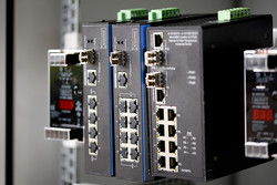 Assmann DN-651109 Digitus Endüstriyel Tip Yönetilemeyen Fast Ethernet PoE+ Switch - Thumbnail