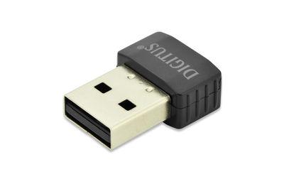 Assmann DN-70565 Digitus Tiny Kablosuz (Wireless) 11AC USB 2.0 Adaptör