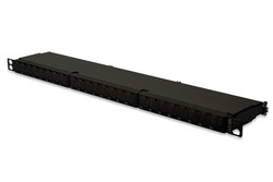 ASSMANN - Assmann DN-91624S-SL-EA Digitus 24 port CAT. 6A (Category 6A), Class EA Patch Panel