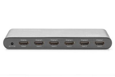 Assmann DS-45317 4K HDMI Switch, 5x1