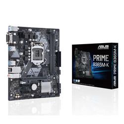 ASUS - ASUS 1151p v2 B365 DDR4 Prime B365M-K 6x Sata 1x M2 Sata DVI Intel® HD Graphics 2x (PCIe) mATX