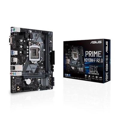 ASUS 1151p v2 H310 DDR4 Prime H310M-F R2.0 4x Sata Intel® HD Graphics 2x (PCIe) mATX