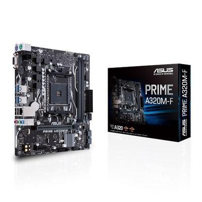 ASUS AM4 A320 DDR4 Prime A320M-F 4x Sata AMD Ryzen Graphics 4x (PCIe) mATX