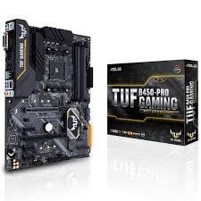 ASUS - ASUS AM4 B450 DDR4 Gaming TUF B450 Pro Gaming 6x Sata 2x M2 Sata HDMI DVI AMD Ryzen Graphics 5x (PCIe) ATX