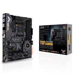 ASUS - ASUS AM4 X570 DDR4 Gaming TUF X570-PLUS 8x Sata 3x M2 NVMe x4 HDMI DisplayPort AMD Ryzen Graphics 5x (PCIe) ATX