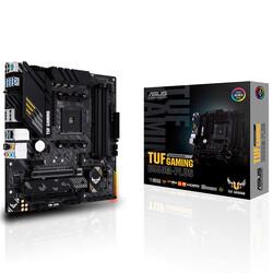 ASUS - ASUS B550 TUF B550M-PLUS GAMING DDR4 SATA3 M2 PCIe NVME HDMI DP PCIe 16X v4.0 AM4 mATX