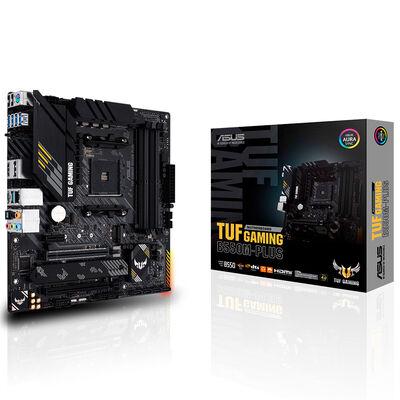 ASUS B550 TUF B550M-PLUS GAMING DDR4 SATA3 M2 PCIe NVME HDMI DP PCIe 16X v4.0 AM4 mATX
