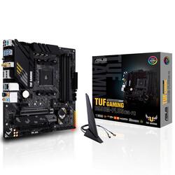 ASUS - ASUS B550 TUF B550M-PLUS (WI-FI) DDR4 SATA3 M2 PCIe NVME HDMI DP PCIe 16X v4.0 AM4 mATX