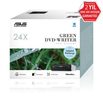 Asus DRW-24D5MT 24X Dahili DVD Yazıcı, Kutulu, M-Disc destekli, Siyah