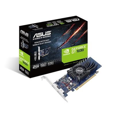 ASUS GEFORCE GT 1030 2GB GDDR5 LOW PROFILE (BRACKET) 64BIT DP HDMI EKRAN KARTI