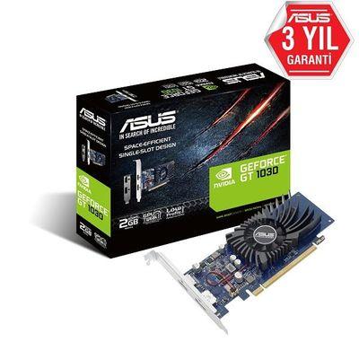 ASUS GT1030-2G-BRK 2GB Geforce GTX1030 GDDR5 64bit HDMI DP 16x Ekran Kartı