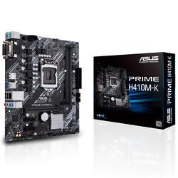 ASUS - ASUS H410 Prime H410M-K DDR4 SATA3 DVI PCIe 16X v3.0 1200p mATX