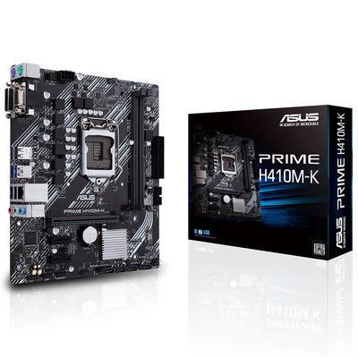 ASUS H410 Prime H410M-K DDR4 SATA3 DVI PCIe 16X v3.0 1200p mATX