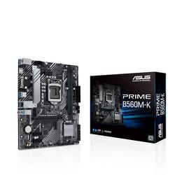 ASUS - ASUS PRIME B560M-K DDR4 M2 PCIe NVME HDMI PCIe 16X v4.0 1200p mATX