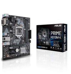 ASUS - ASUS PRIME H310M-K R2.0 H310 DDR4 Vga GLan mATX DVI,USB3.1 1151Pv2 Anakart
