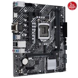 ASUS - ASUS PRIME H510M-D DDR4 M2 PCIe NVME HDMI DP PCIe 16X v4.0 1200p mATX Seri Port