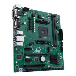 ASUS - ASUS PRO A520M-C-CSM AMD A520 AM4 DDR4 4400 HDMI DVI VGA M2 USB3.2 COM PCI mATX